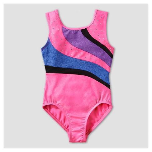 8e58b800c1e7 Freestyle By Danskin Girls  Dance Gymnastics Leotard - Pink   Target