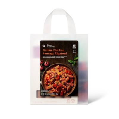 Italian Chicken Sausage Rigatoni Meal Bag - 60.3oz