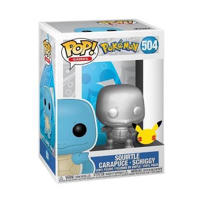 Funko POP! Games: Pokemon - Squirtle (Metallic)
