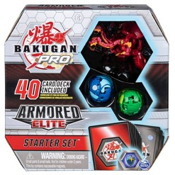 Bakugan Pro Armored Elite Starter Set with Nillious Ultra 2 Bakugan and Collectible Trading Cards