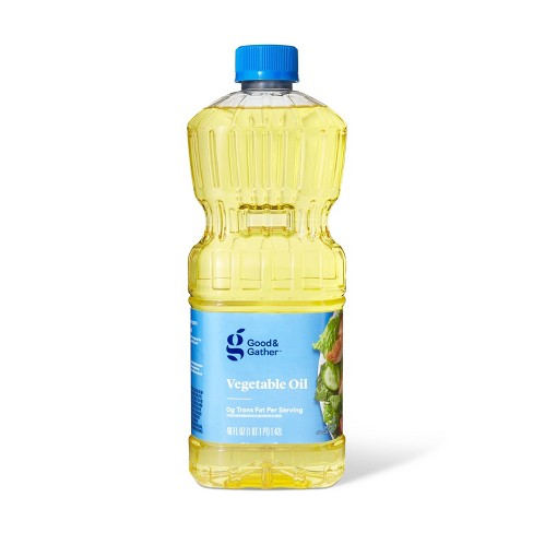 Vegetable Oil - 48oz - Good & Gather™ - image 1 of 2