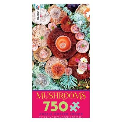 Ceaco 750pc Jawbone Mushroom Puzzle