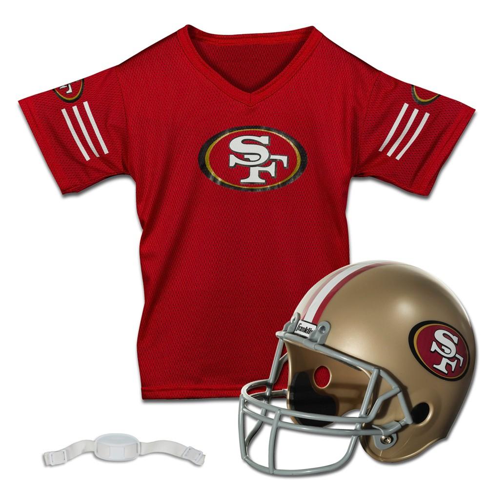 San Francisco 49ers Youth Uniform Jersey Set, Kids Unisex