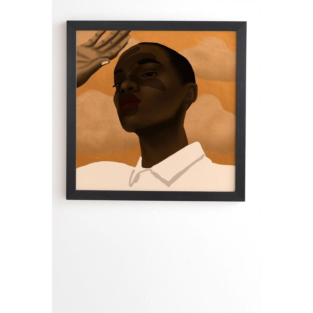 30 34 X 30 34 Nawaalillustrations Suns Out Framed Wall Art Black Deny Designs