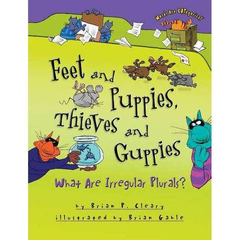 Feet and Puppies, Thieves and Guppies - (Words Are Categorical (R)) by  Brian P Cleary (Paperback) - image 1 of 1