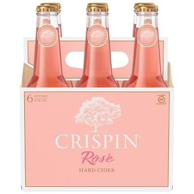 Crispin Rosé Hard Cider - 6pk/12 fl oz Bottles