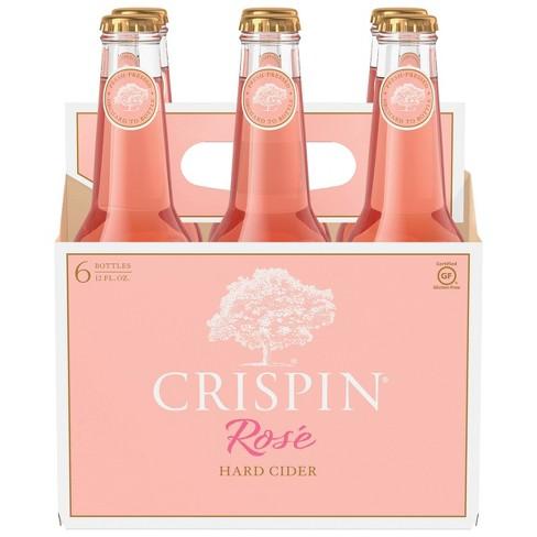 Crispin Rosé Hard Cider - 6pk/12 fl oz Bottles - image 1 of 4