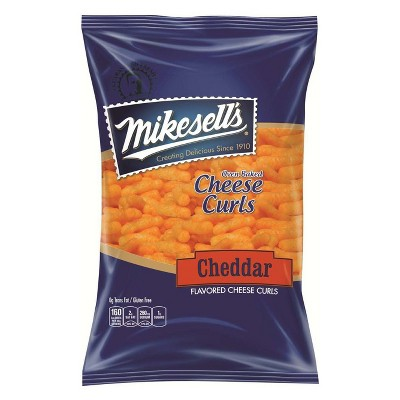 Mikesell's Oven Baked Cheddar Cheese Curls - 6oz