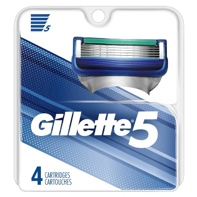Razor Blades: Gillette 5