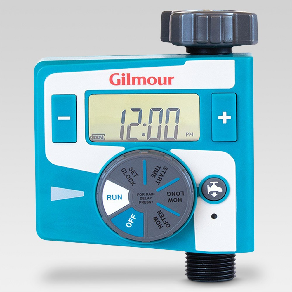 Image of Gilmour Electrical Timer, Single Outlet, Blue
