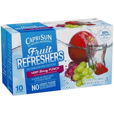 Juice Boxes: Capri Sun Fruit Refreshers