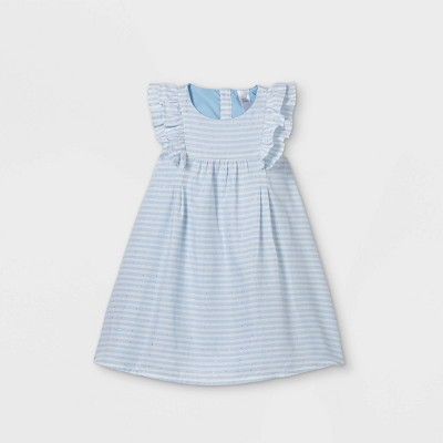 Toddler Girls' Striped Tank Dress - Just One You® made by carter's Blue