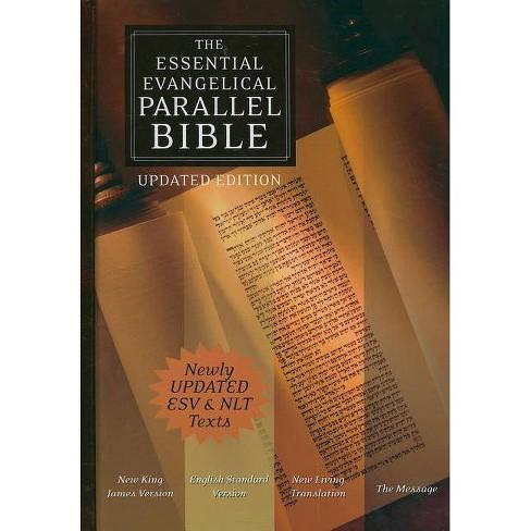Essential Evangelical Parallel Bible-NKJV/ESV/NLT/MS - (Hardcover) - image 1 of 1