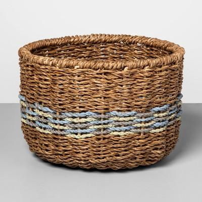 Small Basket Blue Striped 6.25 x9.25  - Opalhouse™
