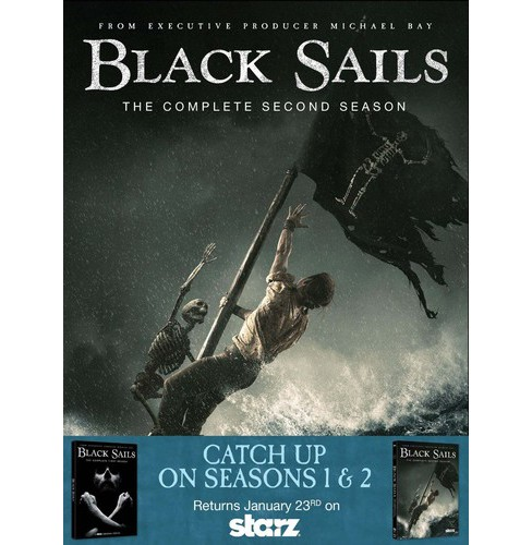 Black Sails SN1&2 DVD 2PK - image 1 of 1