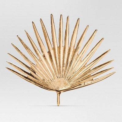 Cast Metal Gold Palm Leaf (11.5 x10 )- Project 62™