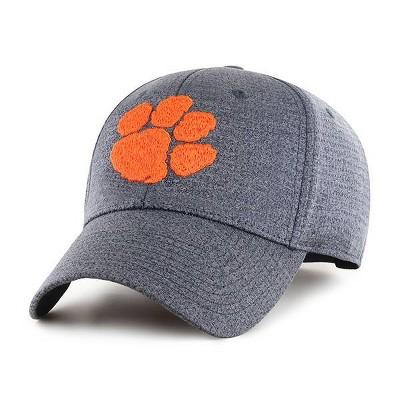 NCAA Clemson Tigers Men's Gray Structured Hat