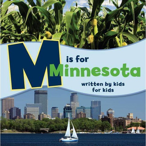 M Is for Minnesota - (See-My-State Alphabet Book) by  Jewish Family Minneapolis (Paperback) - image 1 of 1