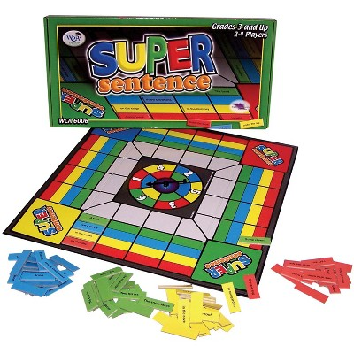 WCA Super Sentence Board Game, Ages 7 and Up