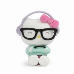 GUND - Hello Kitty - Kawaii Style with Hip Headphones, 9.5-inches