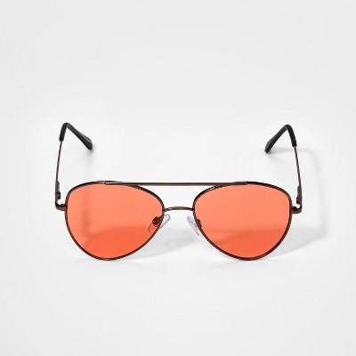 Boys' Aviator Sunglasses - art class™ Bronze