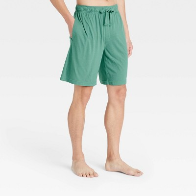 "Men's 9"" Regular Fit Knit Pajama Shorts - Goodfellow & Co™ Green"