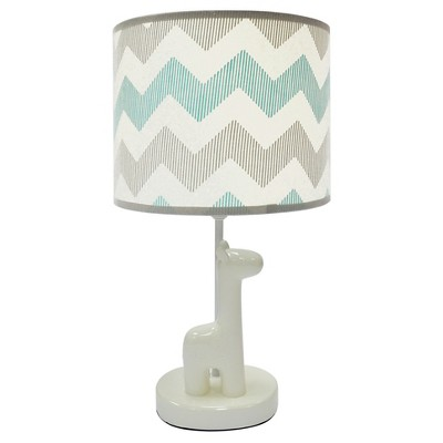 The Peanut Shell Lamp with Shade - Uptown Giraffe