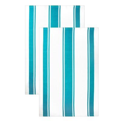 2pk Kitchen Towels Blue - MU Kitchen