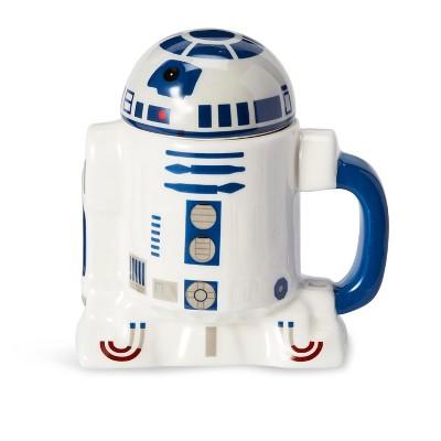 Seven20 Star Wars Mug - 20oz R2D2 Cup with Removable Helmet Mug