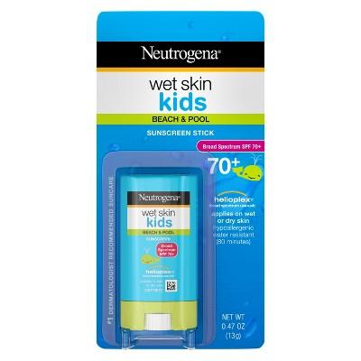 Neutrogena Wet Skin Kids Sunscreen Stick - SPF 70 - 0.47oz