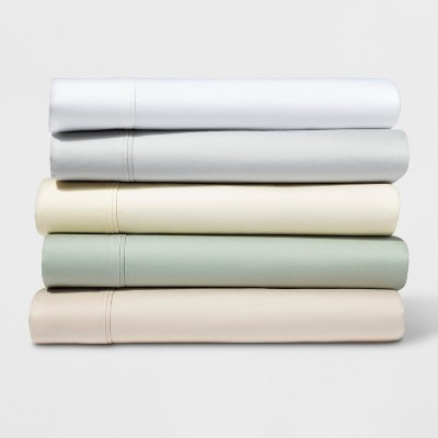500 Thread Count Tri Ease Solid Sheet Set   Project 62™ by Shop Collections
