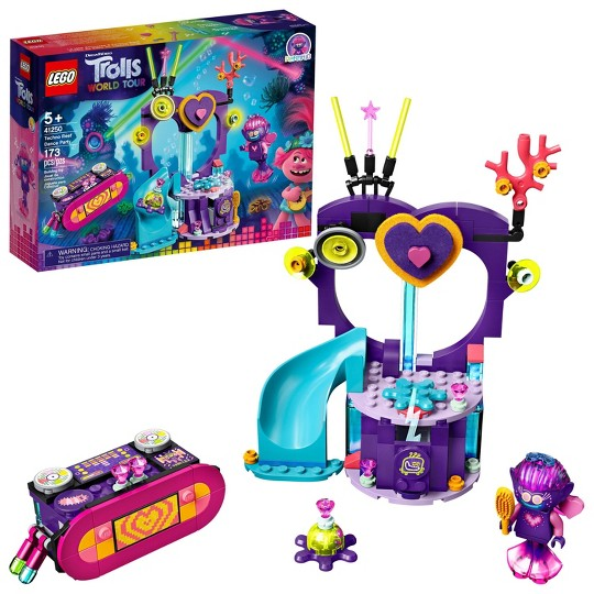 LEGO Trolls World Tour Techno Reef Dance Party Building Kit 41250 image number null