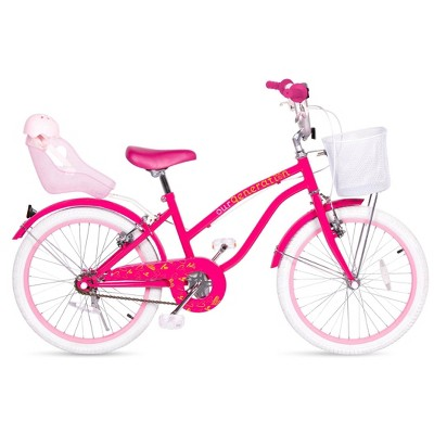 """Our Generation 20"""" Kids' Bike with Doll Seat"""