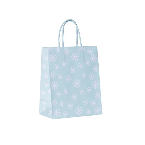 Cub Bag Snowflakes Gift Bag - Spritz™ - image 1 of 1