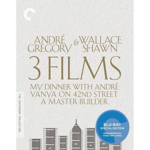 Andre Gregory & Wallace Shawn: 3 Films (Blu-ray) - image 1 of 1