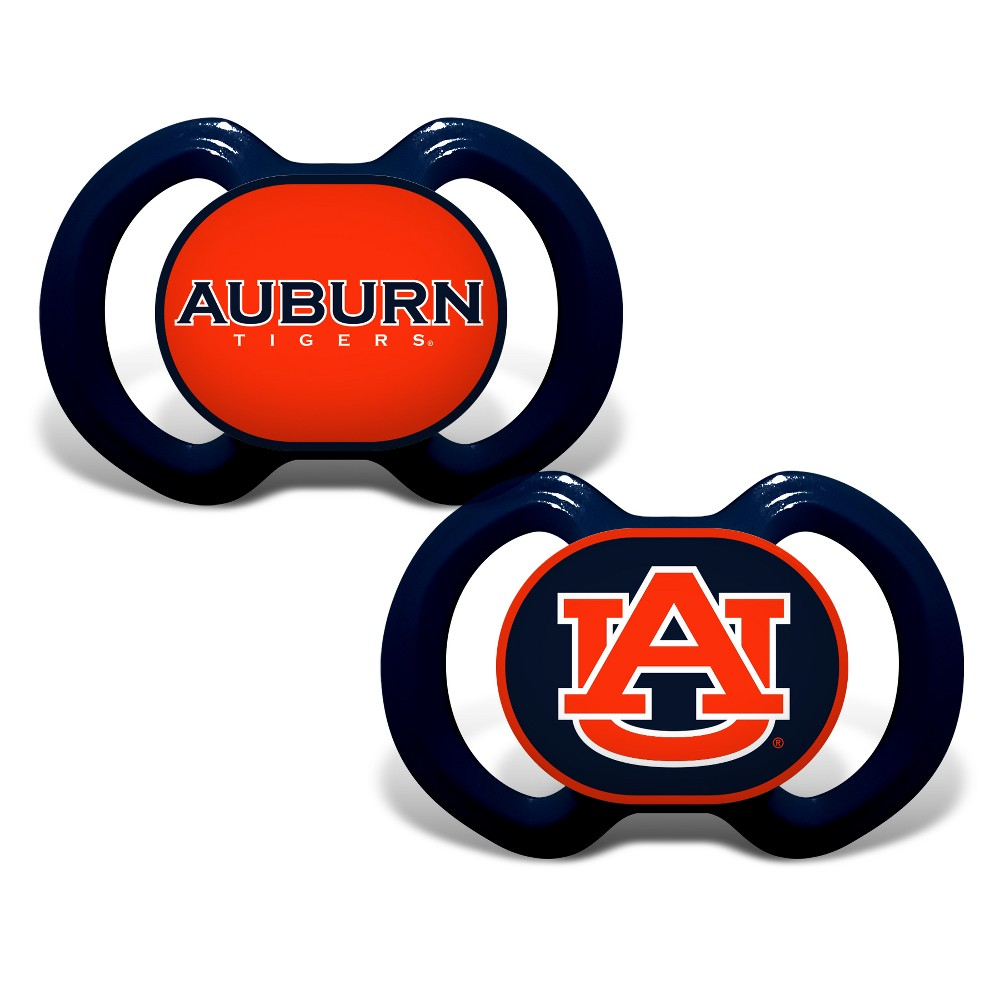 Auburn Tigers 2pk Pacifier Set