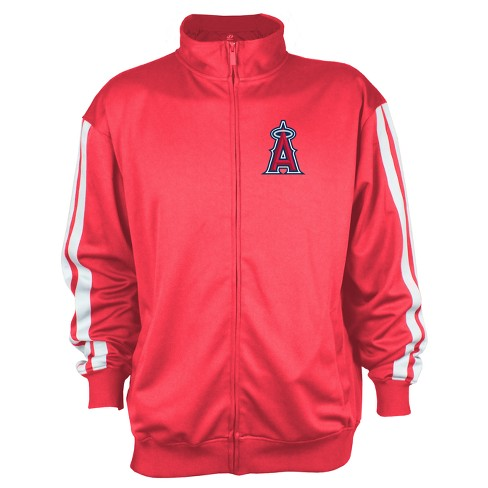 Los Angeles Angels of Anaheim Men's Zip-Up Track Jacket - M - image 1 of 2