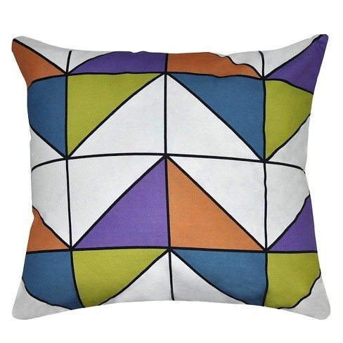 Geometric Throw Pillow - Loom and Mill - image 1 of 2