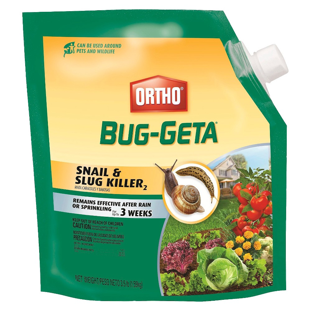 Ortho Bug-Geta Snail & Slug Killer 3.5lb