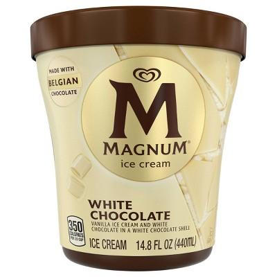 Magnum Tub White Chocolate Vanilla Ice Cream - 14.8oz