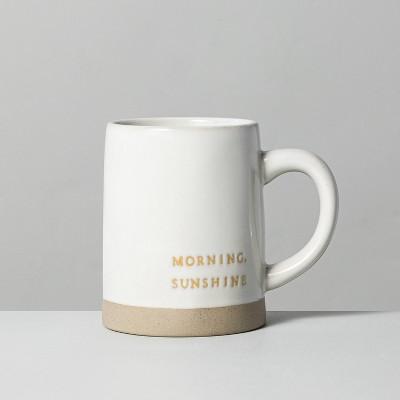 'Morning Sunshine' Stoneware Mug Yellow - Hearth & Hand™ with Magnolia