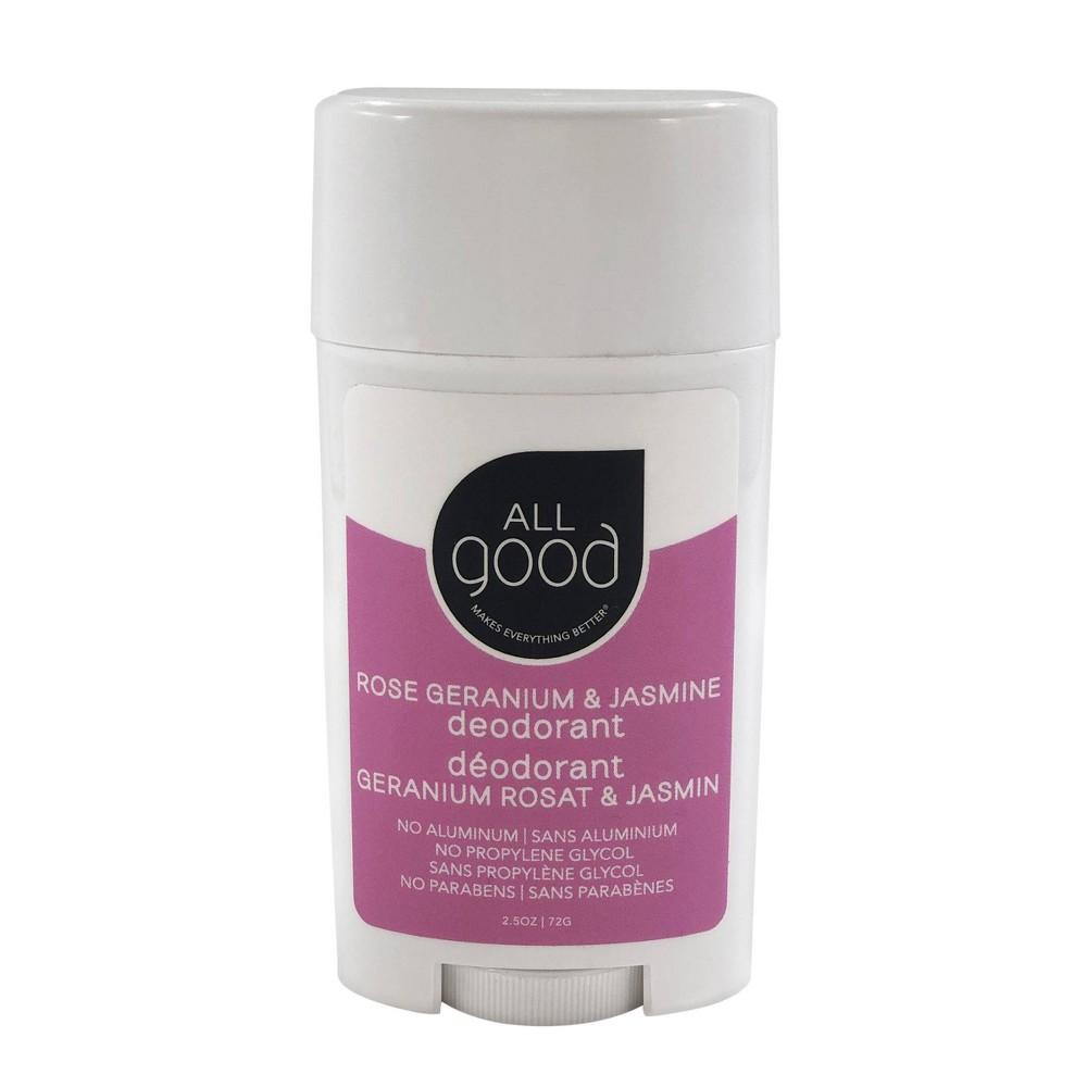 Image of All Good Rose Geranium & Jasmine Deodorant - 2.5oz