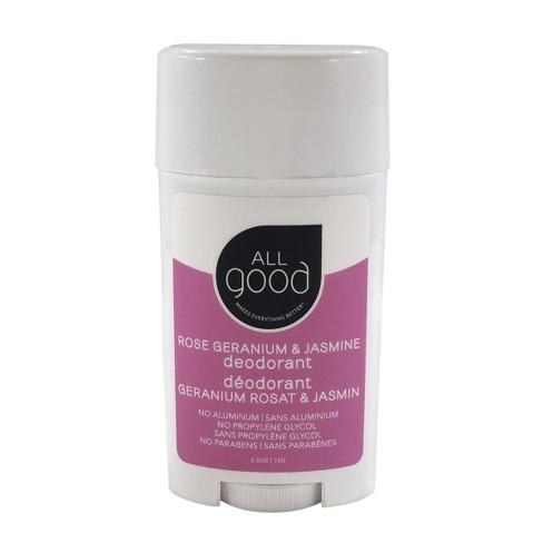 All Good Rose Geranium & Jasmine Deodorant - 2.5oz - image 1 of 4