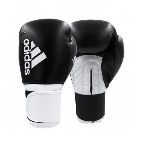 Adidas Hybrid 100 SMU 12oz Dynamic Fit Women's Fitness and Training Gloves - Black/White