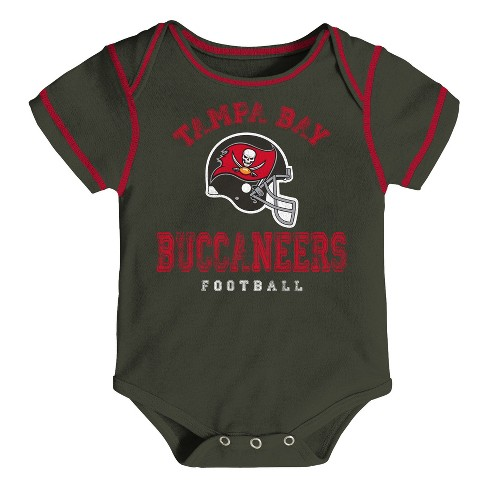 6ec97b2f Tampa Bay Buccaneers Baby Boys' Awesome Football Fan 3pk Bodysuit Set - 12 M