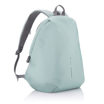 XD Design Bobby Soft Anti Theft Travel Eco Friendly Laptop Backpack with USB Port, RFID Protected Pockets, and Hidden Zippers, Mint Green