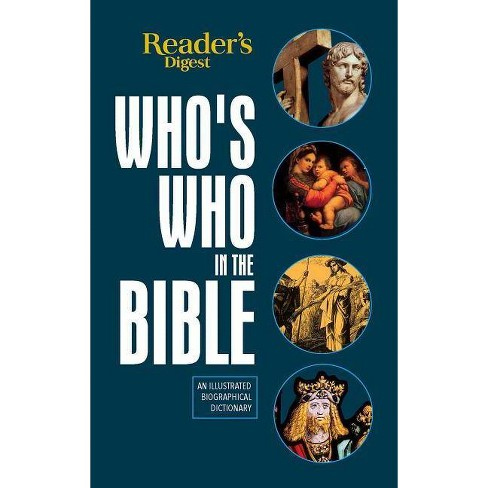 Reader's Digest Who's Who in the Bible - by  Editor's at Reader's Digest (Hardcover) - image 1 of 1