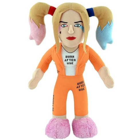 """DC Universe Series One Harley Quinn Standing 10/"""" Plush for display or play"""