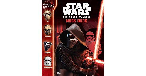 Star Wars The Force Awakens Mask Book (Paperback) - image 1 of 1