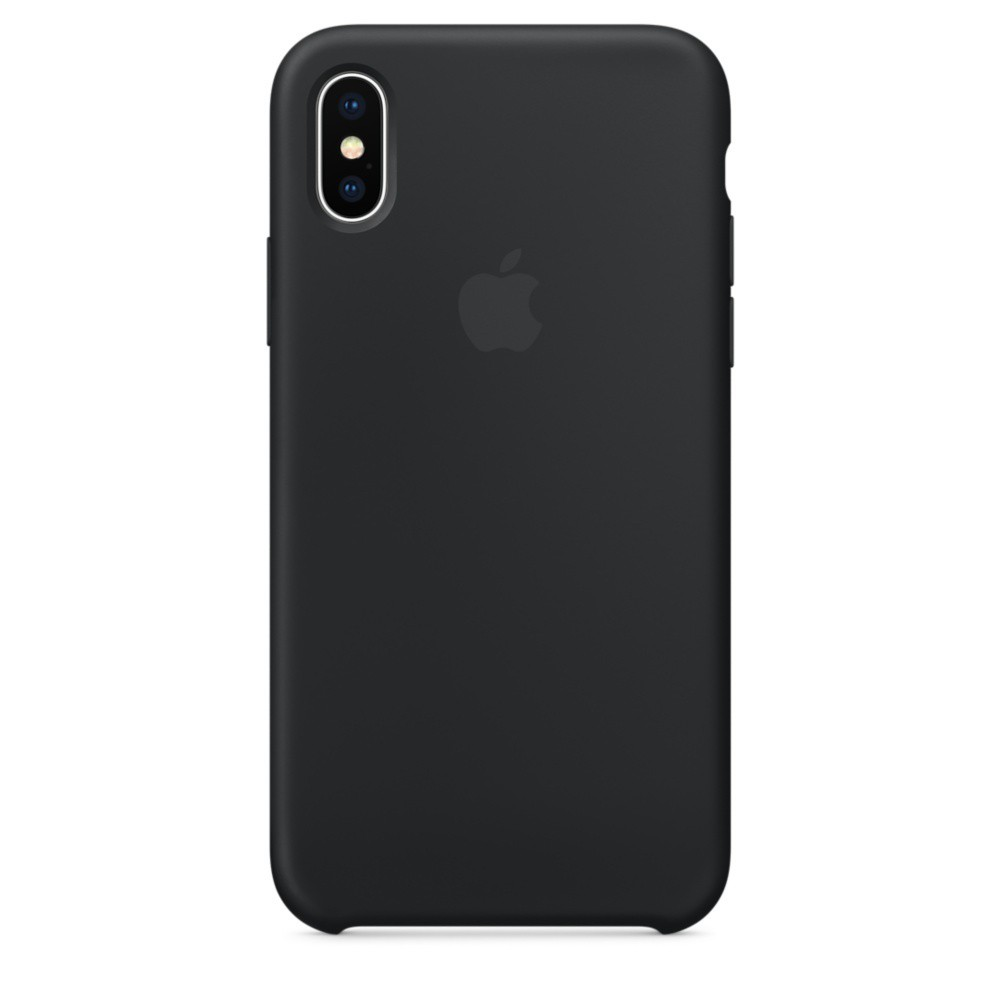 iPhone X/Xs Silicone Case - Black